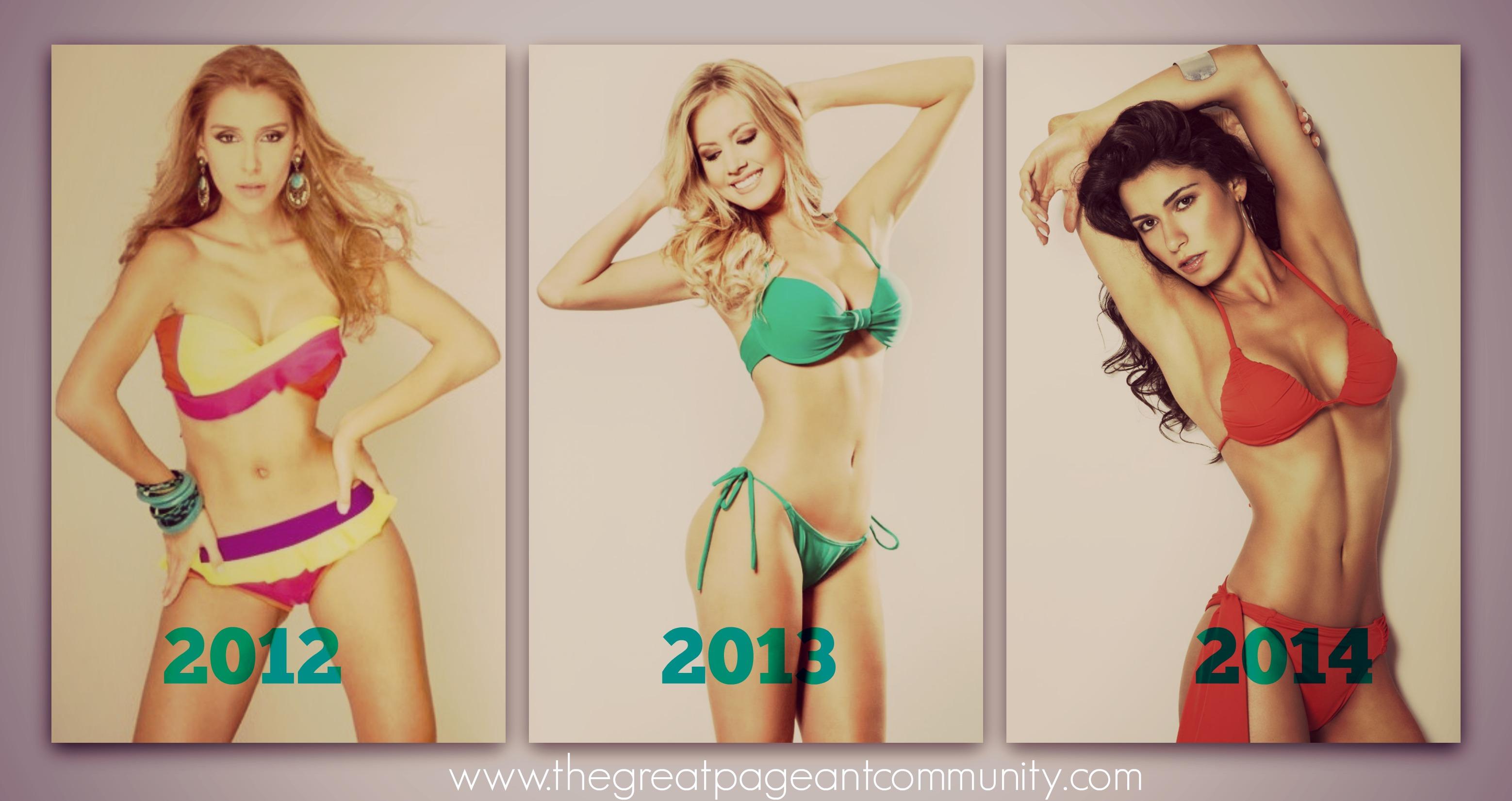 brazilian beauties: mariana notarangelo 2012, sancler frantz 2013