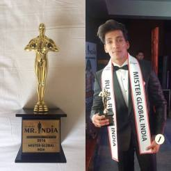 Prateek Baid represents India at Mister Global 2016